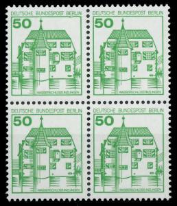 BERLIN DS BURGEN U. SCHLÖSSER Nr 615 postfrisch VIERERB 8F14CE