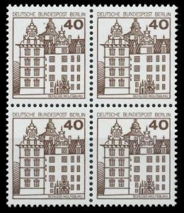 BERLIN DS BURGEN U. SCHLÖSSER Nr 614 postfrisch VIERERB 8F14DA