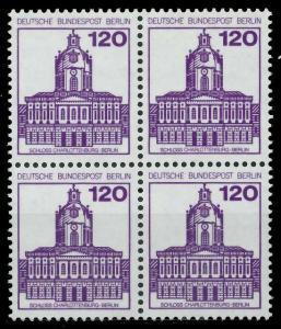 BERLIN DS BURGEN U. SCHLÖSSER Nr 675 postfrisch VIERERB 8F96CA