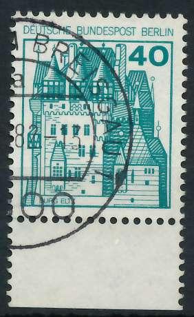 BERLIN DS BURGEN U. SCHLÖSSER Nr 535 gestempelt URA 900F4A