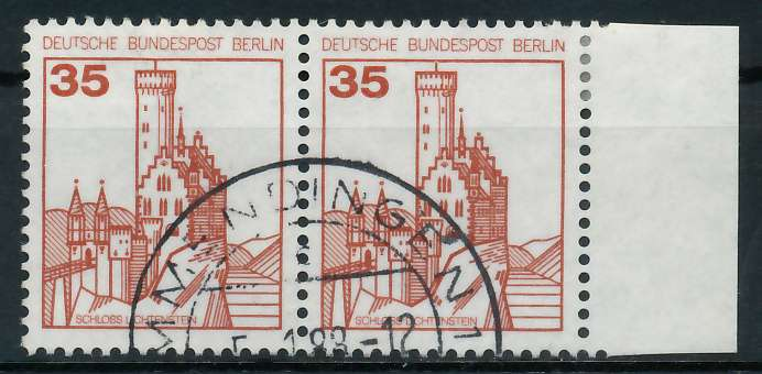 BERLIN DS BURGEN U. SCHLÖSSER Nr 673 gestempelt WAAGR PA 900F4E