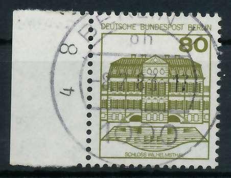 BERLIN DS BURGEN U. SCHLÖSSER Nr 674 zentrisch gestempelt SR 900F52