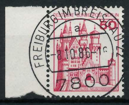 BERLIN DS BURGEN U. SCHLÖSSER Nr 536 zentrisch gestempelt SR 900F56