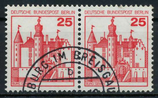 BERLIN DS BURGEN U. SCHLÖSSER Nr 587 gestempelt WAAGR PA 900F5A