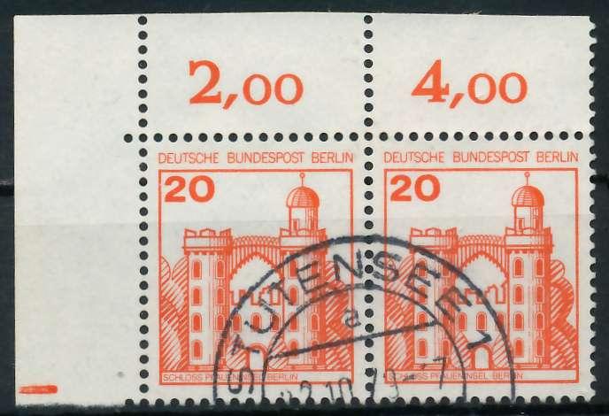 BERLIN DS BURGEN U. SCHLÖSSER Nr 533 gestempelt WAAGR PA 900F5E