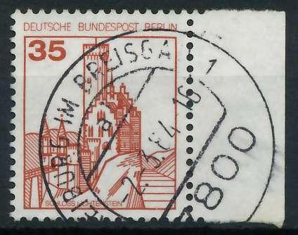 BERLIN DS BURGEN U. SCHLÖSSER Nr 673 zentrisch gestempelt SR 900F6A