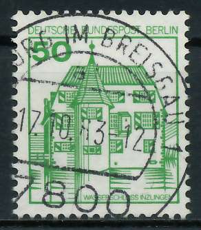 BERLIN DS BURGEN U. SCHLÖSSER Nr 615 zentrisch gestempelt 900F6E