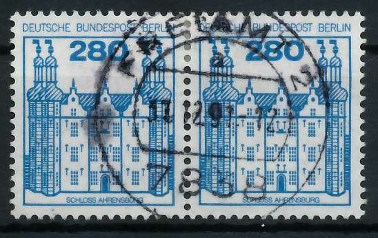 BERLIN DS BURGEN U. SCHLÖSSER Nr 676 zentrisch gestempelt WA 900F72