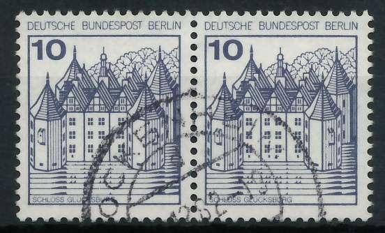 BERLIN DS BURGEN U. SCHLÖSSER Nr 532 gestempelt WAAGR PA 900F76