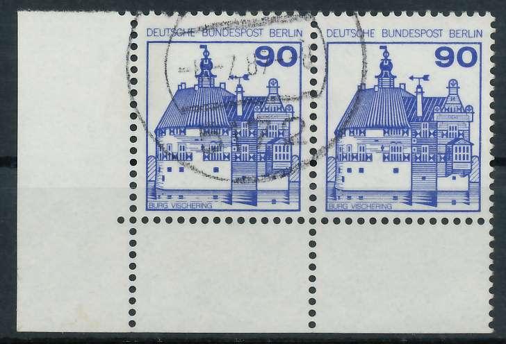BERLIN DS BURGEN U. SCHLÖSSER Nr 588 gestempelt WAAGR PA 900F86