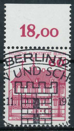 BERLIN DS BURGEN U. SCHLÖSSER Nr 611 ESST ZENTR 900FA2
