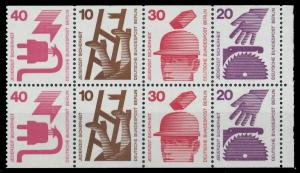 BERLIN HEFTCHENBLATT Nr HB 17 postfrisch 90104E