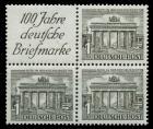 BERLIN ZUSAMMENDRUCK Nr S1 W1 postfrisch VIERERBLOCK 9011DE