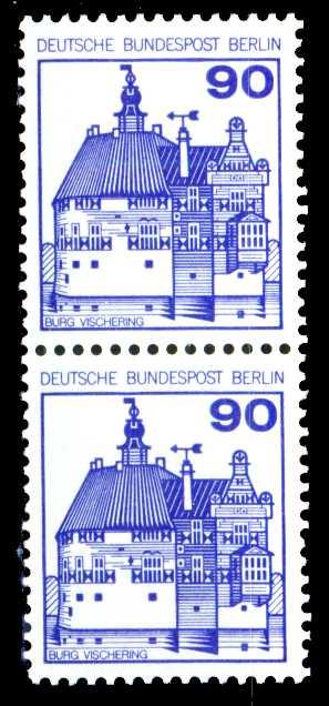 BERLIN DS BURGEN U. SCHLÖSSER Nr 588R gestempelt R2 213372