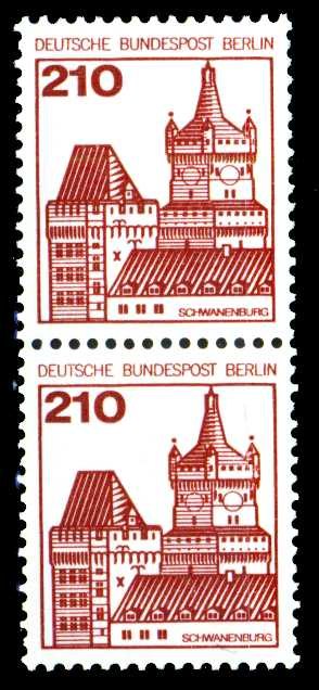 BERLIN DS BURGEN U. SCHLÖSSER Nr 589R postfrisch R2 21337A
