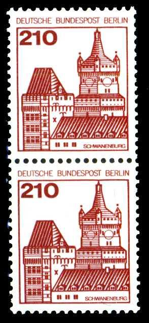 BERLIN DS BURGEN U. SCHLÖSSER Nr 589R gestempelt R2 21337A