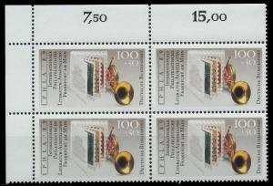 BRD 1989 Nr 1415 postfrisch VIERERBLOCK ECKE-OLI 906A3E