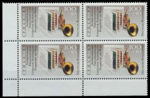 BRD 1989 Nr 1415 postfrisch VIERERBLOCK ECKE-ULI 906A46