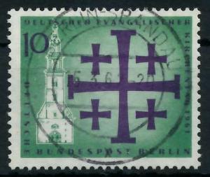 BERLIN 1961 Nr 215 zentrisch gestempelt 920376