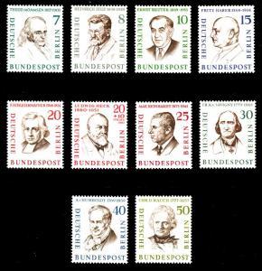 BERLIN 1957 Nr 163-172 postfrisch S9797C6