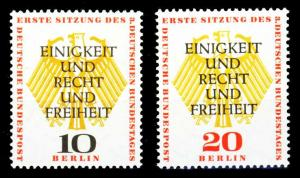 BERLIN 1957 Nr 174-175 postfrisch S9797CA