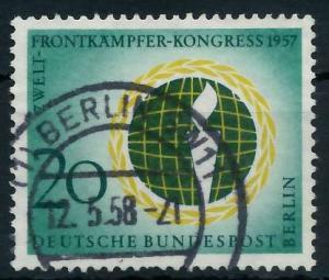 BERLIN 1957 Nr 177 gestempelt 9203B6