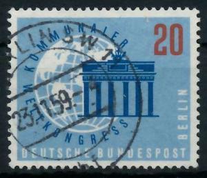 BERLIN 1959 Nr 189 gestempelt 9203C2