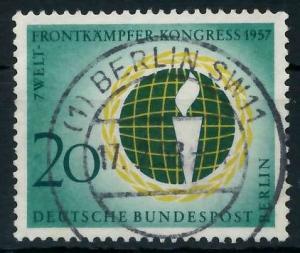 BERLIN 1957 Nr 177 zentrisch gestempelt 9203CA