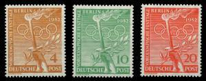 BERLIN 1952 Nr 88-90 postfrisch 9203CE