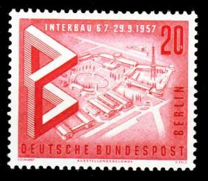 BERLIN 1957 Nr 161 postfrisch S979802