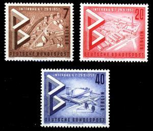 BERLIN 1957 Nr 160-162 postfrisch S9797EE