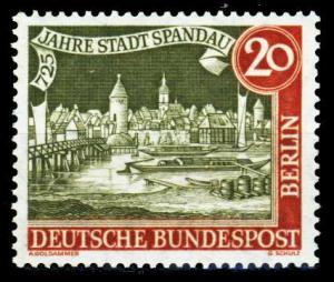 BERLIN 1957 Nr 159y postfrisch S9797EA