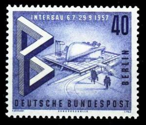 BERLIN 1957 Nr 162 postfrisch S979806