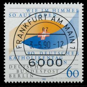 BERLIN 1990 Nr 873 zentrisch gestempelt ECKE-URE 9205C6