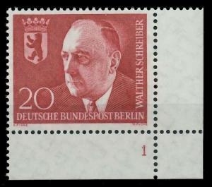 BERLIN 1960 Nr 192 postfrisch FORMNUMMER 1 8E2962