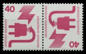 BRD ZUSAMMENDRUCK Nr K12 postfrisch WAAGR PAAR S9799EA
