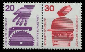 BRD ZUSAMMENDRUCK Nr W40 postfrisch WAAGR PAAR S979A02