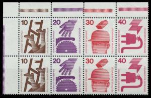 BRD HEFTCHENBLATT Nr H-Blatt 23 postfrisch HB ECKE-OLI 920656