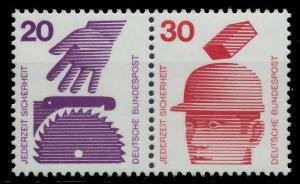 BRD ZUSAMMENDRUCK Nr W40 postfrisch WAAGR PAAR S979A72