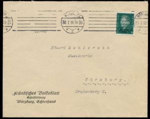 DEUTSCHES REICH 1930 Nr 444 BRIEF EF 92068A