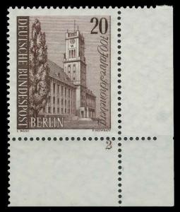 BERLIN 1964 Nr 233 postfrisch FORMNUMMER 2 9206AA