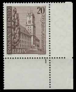 BERLIN 1964 Nr 233 postfrisch FORMNUMMER 1 9206B6