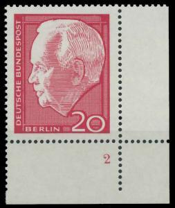 BERLIN 1964 Nr 234 postfrisch FORMNUMMER 2 9206BA