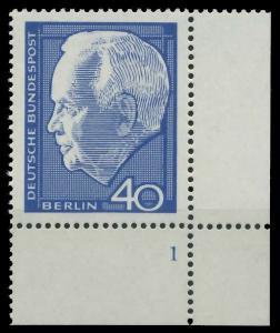 BERLIN 1964 Nr 235 postfrisch FORMNUMMER 1 926A16