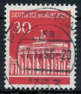 BRD DS BRANDENBURGER TOR Nr 508 zentrisch gestempelt 926AE6