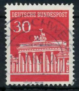 BRD DS BRANDENBURGER TOR Nr 508 zentrisch gestempelt 926AFA