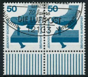 BRD DS UNFALLVERHÜTUNG Nr 700A gestempelt WAAGR PAAR URA 926B06