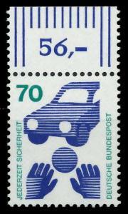 BRD DS UNFALLVERHÜTUNG Nr 773A postfrisch ORA 926B36