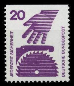 BRD DS UNFALLVERHÜTUNG Nr 696C postfrisch 926CDA