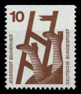 BRD DS UNFALLVERHÜTUNG Nr 695C postfrisch 926CDE